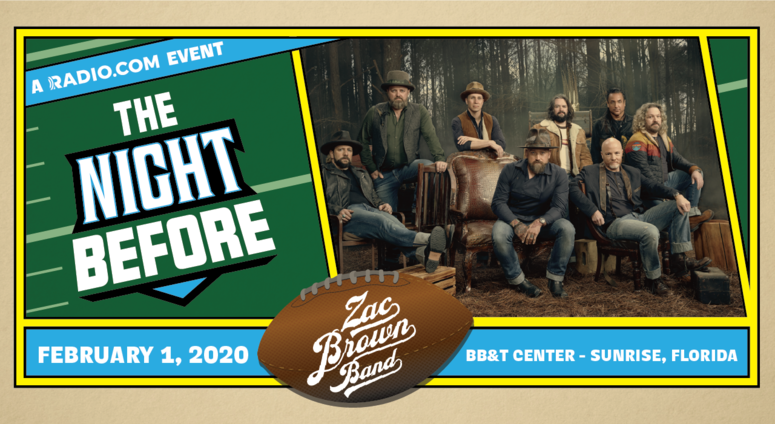 RADIO.COM Presents The 5th Annual The Night Before Starring Zac Brown Band