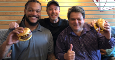 "Try the ""Hochman Burger"" at Tucker Dukes Lunchbox"