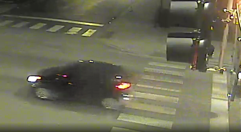 Surveillance photo of the vehicle wanted in connection with a hit-and-run involving a pedestrian Feb. 22, 2020, in Englewood.