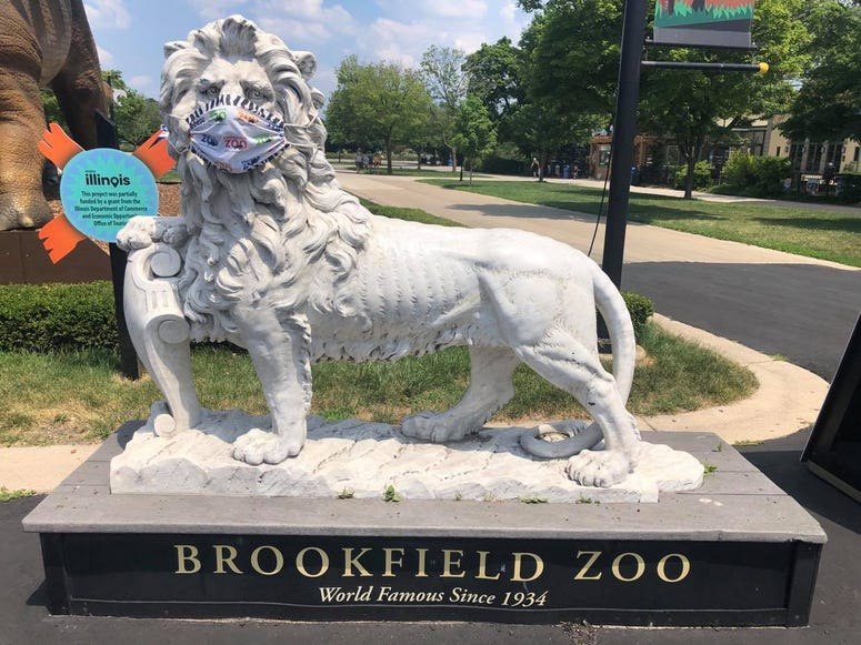 Brookfield Zoo reopens to the public Wednesday, July 8 after being shut down for months due to the COVID-19 pandemic.