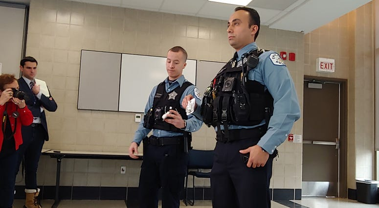 Officers Save Man From Overdosing
