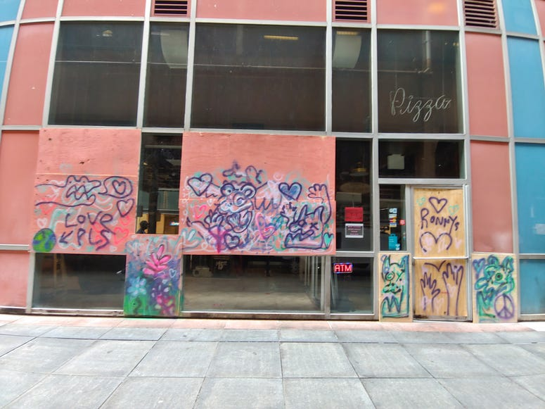Downtown Steakhouse Still Boarded Up 3 Weeks After Looting