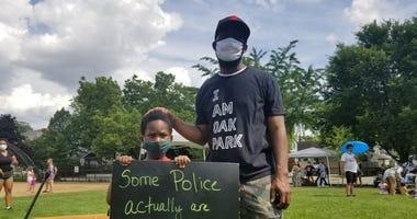 BLM Oak Park protest