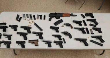 25 guns