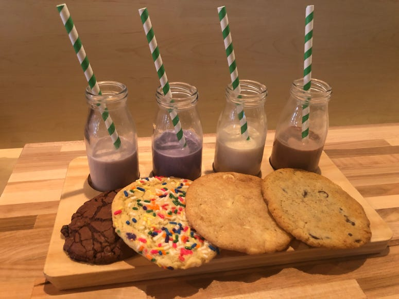JoJo's Milk Bar cookie flight