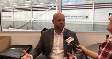 Blackhawks General Manager Stan Bowman