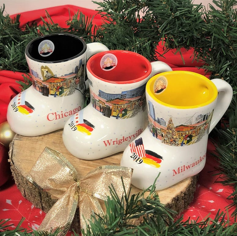 Christkindlmarket 2019 Boot Mugs