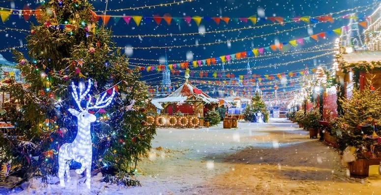 Jack Frost Winter Village & Christmas Tree Farm