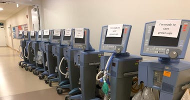 Lurie Children's Hospital is helping other hospitals by loaning their ventilators.