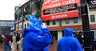 Cubs game rained out