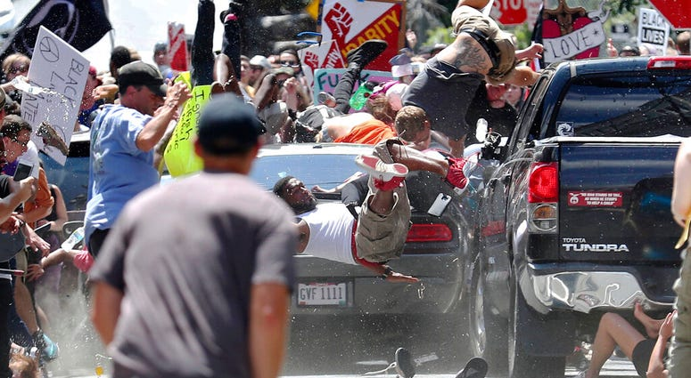 white nationalist rally in Charlottesville 2017