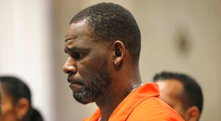 In this Sept. 17, 2019 file photo, R. Kelly appears during a hearing at the Leighton Criminal Courthouse in Chicago.