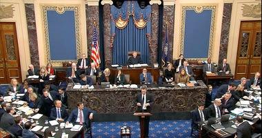 Senate Impeachment Hearing, Trump
