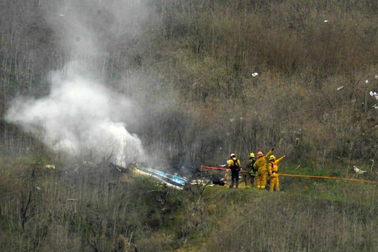 Los Angeles deputies shared Kobe Bryant crash photos