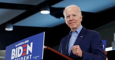 Biden urges Sanders to rein in some supporters
