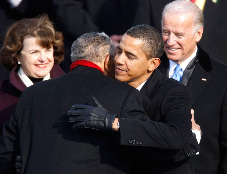 Lowery and Obama