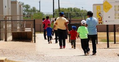 Kids in Detention Center