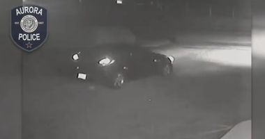 Aurora police have released a video of two vehicles that may have been involved in a hit-and-run that killed a 61-year-old woman Tuesday in the western suburb.