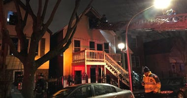 A Chicago firefighter suffered a minor injury battling an extra-alarm blaze March 30, 2020, in the 2500 block of South Albany Avenue in Little Village.