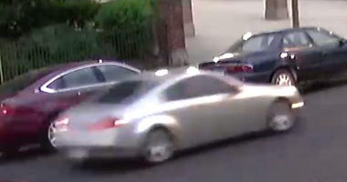 Surveillance image of the car used in the June 20, 2020, killing of Amaria Jones in Austin.