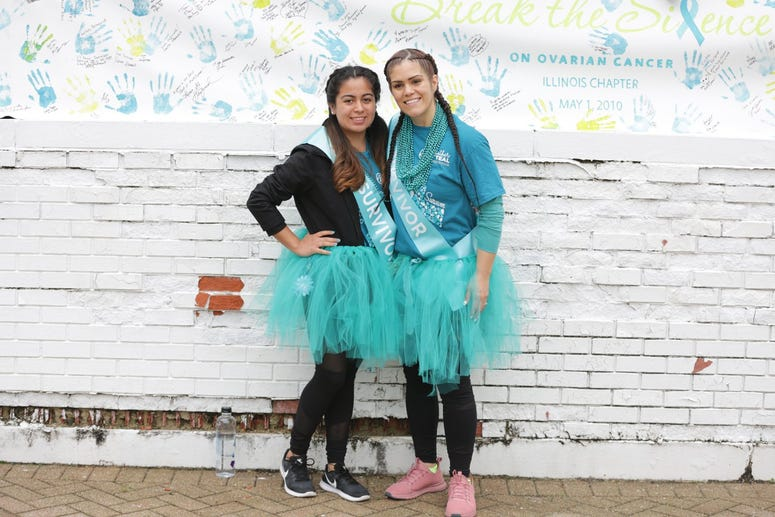Ariana and Isabel, Ovarian Cancer Survivors