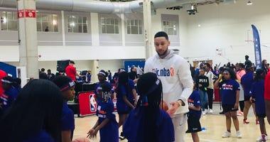 NBA All Girls Basketball Workshop