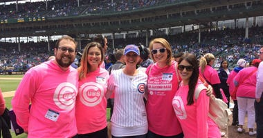 Chicago Cubs Pink Out Game