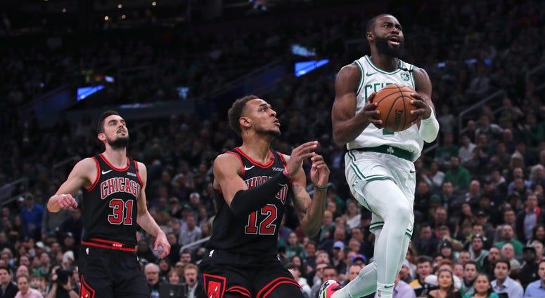 Bulls Celtics