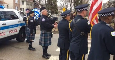 Memorial Roll Call Held For Slain CPD Officer