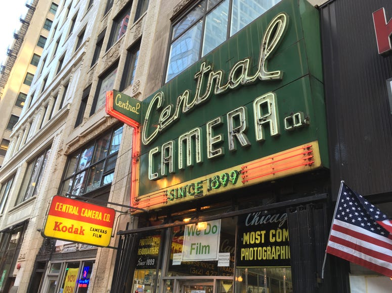 Central Camera Co. Made In Chicago