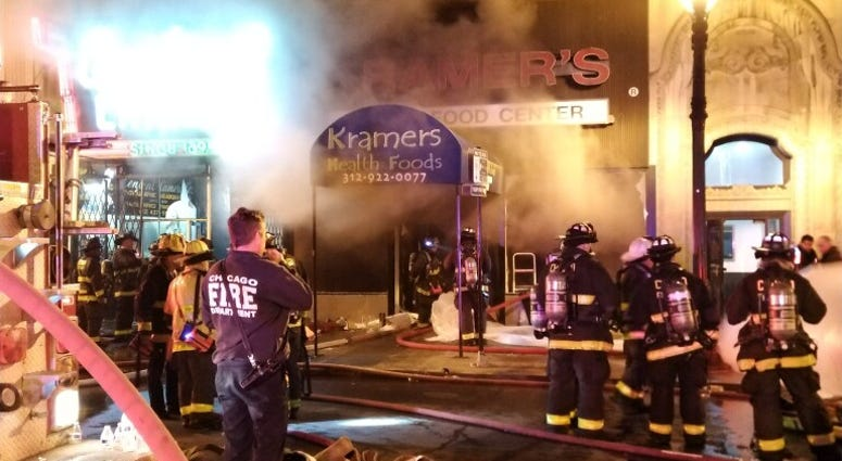 Central Camera Company damaged in extra-alarm fire amid downtown protests
