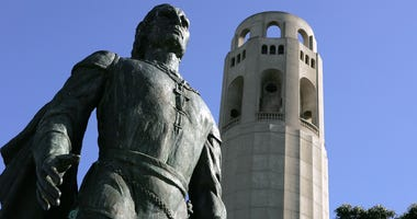Columbus Statue San Francisco