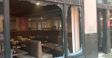 A fire was extinguished in a restaurant at the State of Illinois Building at 160 N. La Salle St on July 4, 2019.