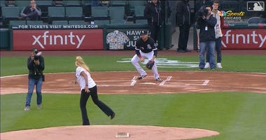 First Pitch Goes A Bit Awry For White Sox Employee