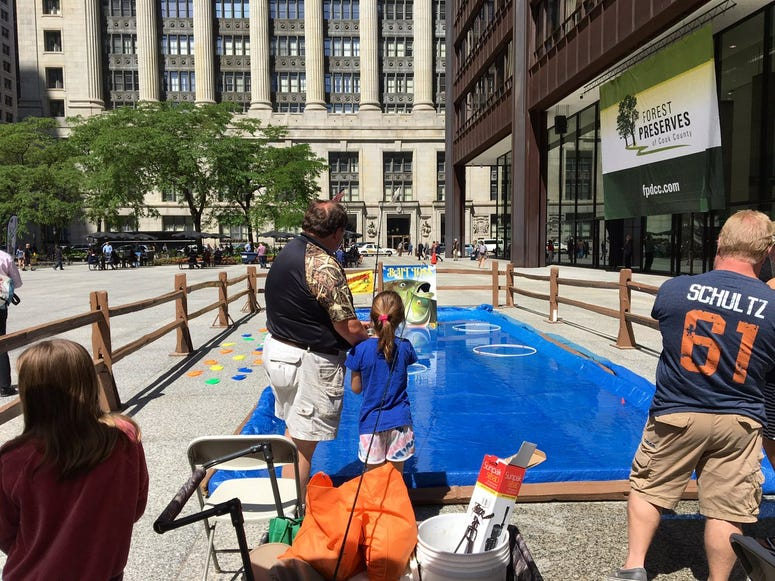 Forest Preserves Host 'Live Healthy, Discover Nature' Event In Daley Plaza