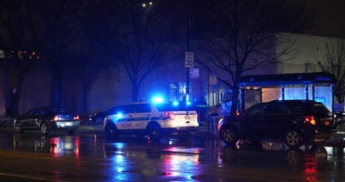 Chicago police at the scene of a fatal accident Jan. 23, 2020, in the 800 block of West 87th Street.