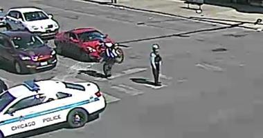 Bike Hits Cop