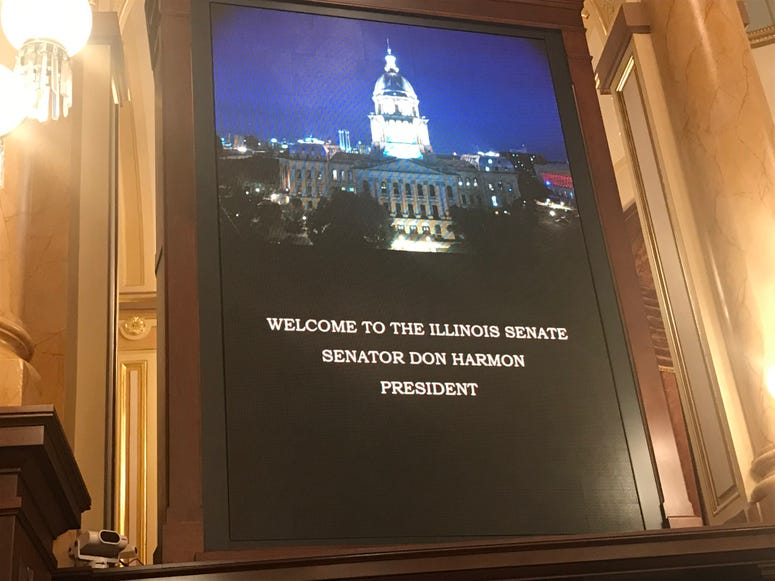 Illinois Senate Elects Don Harmon As Next President