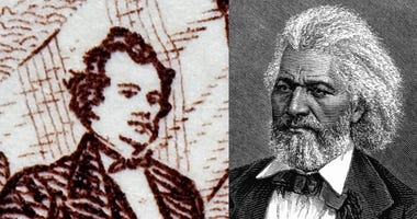 Stephan Douglas And Frederick Douglass