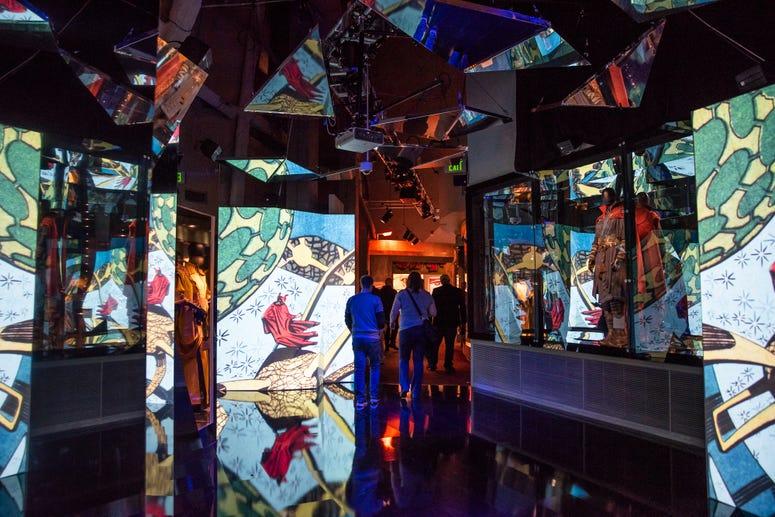 Dr. Strange Mirror Room at Marvel: Universe of Super Heroes exhibit
