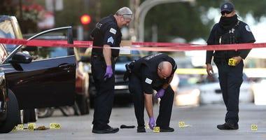Chicago Rapper Murder Scene