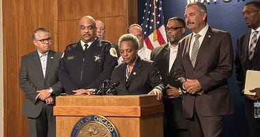 Mayor Lori Lightfoot named former LAPD Chief Charlie Beck the interim Chicago police superintendent.