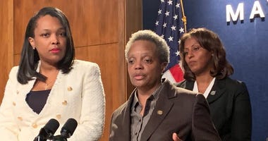 Mayor Lori Lightfoot said she is willing to discuss a compromise on the issue of making up school days lost to the Chicago Teachers Union strike, but she's also insisting CTU make the next move.