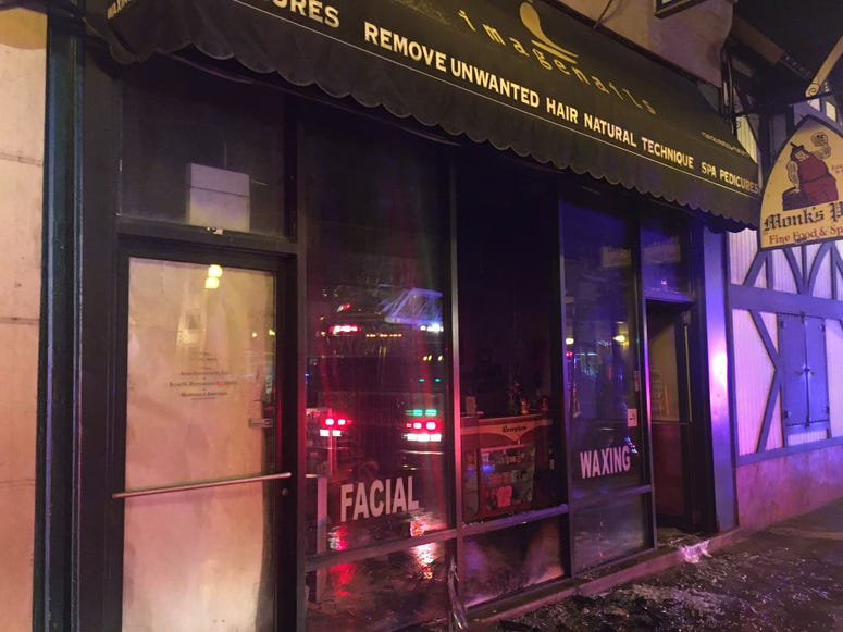 "Fire officials are investigating a fire of ""suspicious origins"" Jan. 29, at a salon in the Loop."