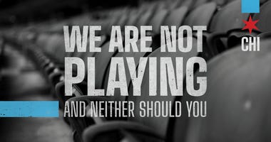 'We Are Not Playing' Campaign