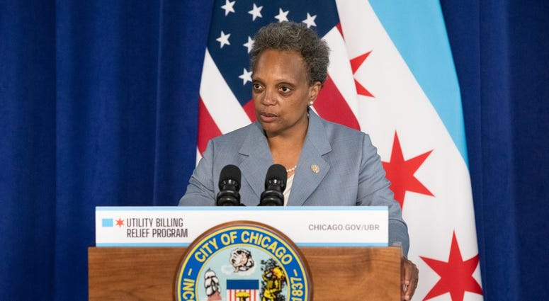 Mayor Lori Lightfoot has launched a new program designed to bring some relief to people having trouble paying their city water and sewer bills.