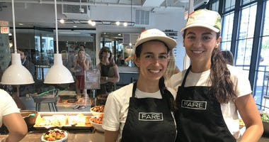 FARE co-owners Britni deLeon and Kasia Bednarz at their new restaurant in the Loop.