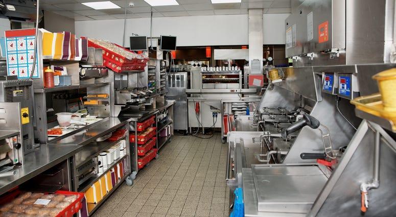 Fast Food Kitchen
