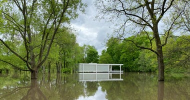 Farnsworth House Flooding