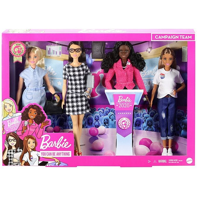 BarbieCareer of the Year Campaign Team set